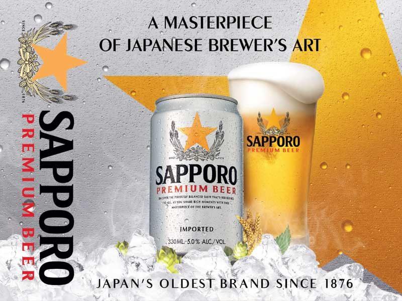 Sapporo Beer Online 1