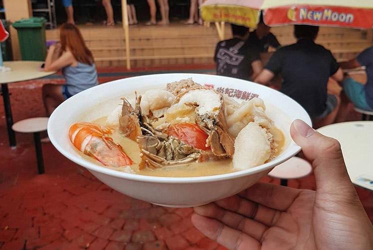 Old Airport Road Yan Ji Seafood Soup