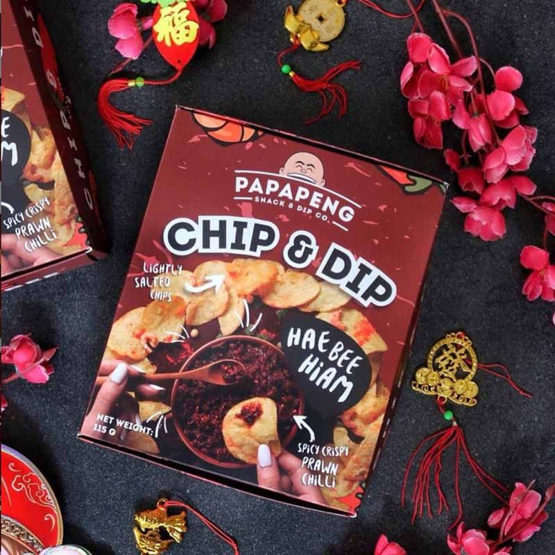 Papapeng Hae Bee Hiam Potato Chips Online 4