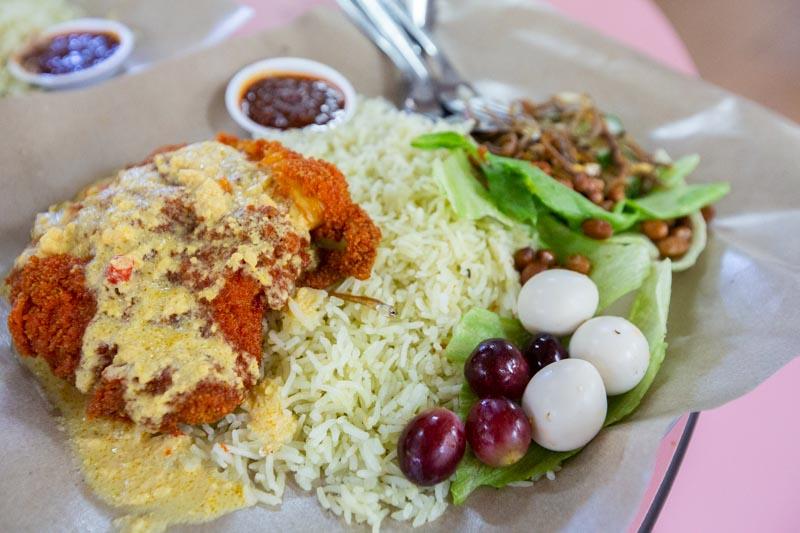Adimann Nasi Lemak Golden Mile Food Centre 2