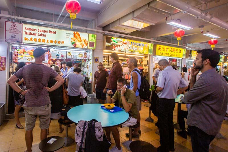 Famous Sungei Road Trishaw Laksa Chinatown 1