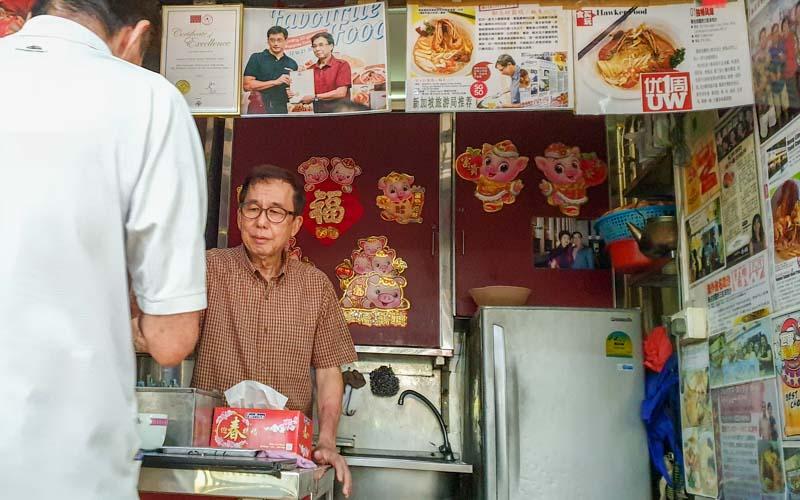 Famous Sungei Road Trishaw Laksa Chinatown 14