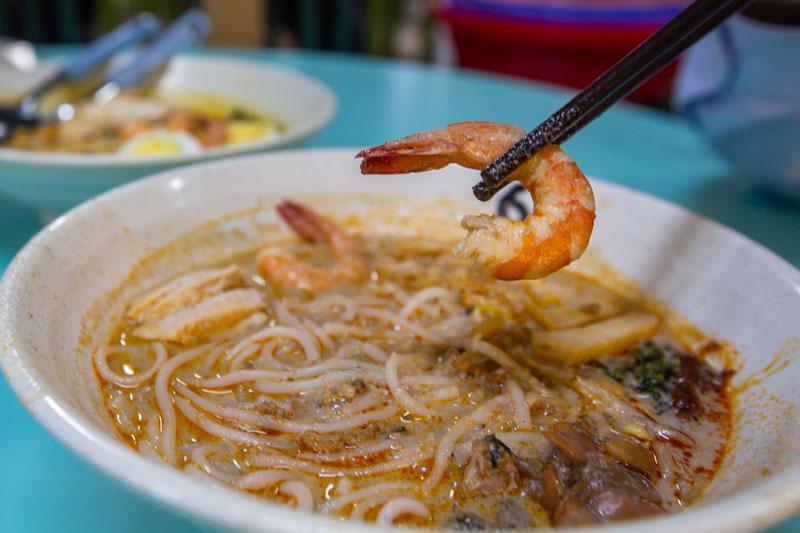 Famous Sungei Road Trishaw Laksa Chinatown 6
