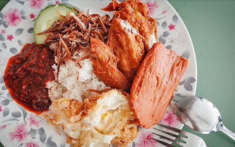International Muslim Food Stall Nasi Lemak Changi Village Online 1