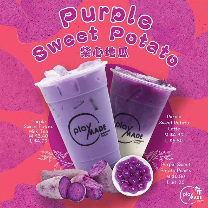Playmade Purple Sweet Potato Drink April 2019 Online 1