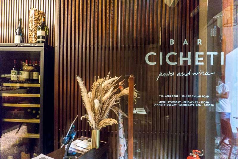 Bar Cicheti 15 support local