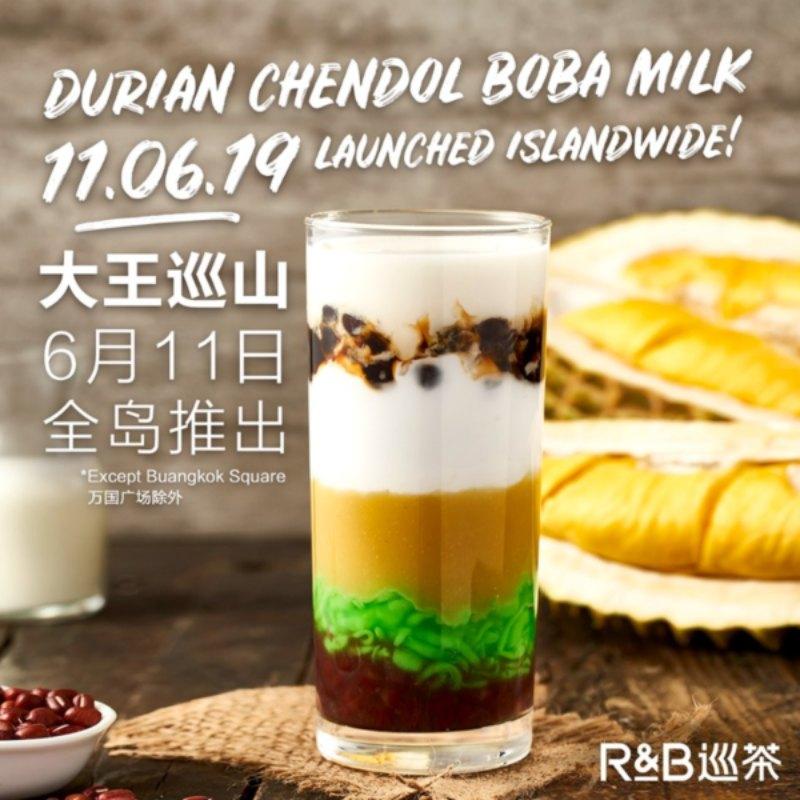 Durian Chendol Boba Milk online