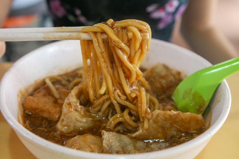 Spinach Yong Tau Foo 11