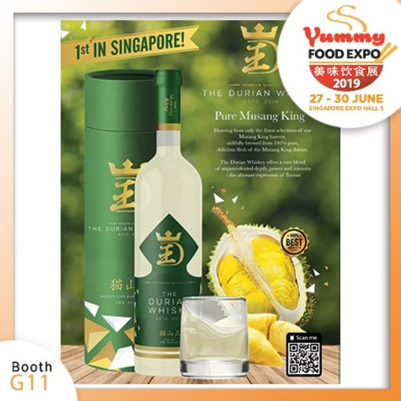 Yummy Food Expo 2019 Durian Whiskey Online