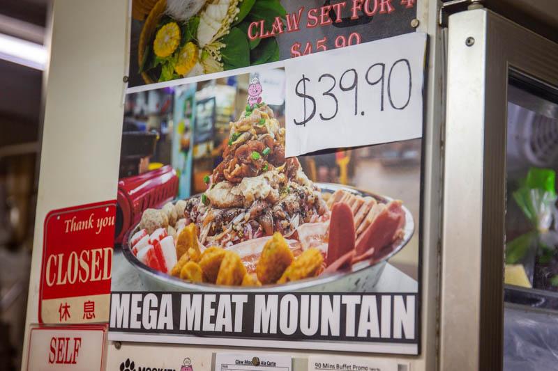 Claw Mookata Mega Meat Mountain Bukit Merah 10