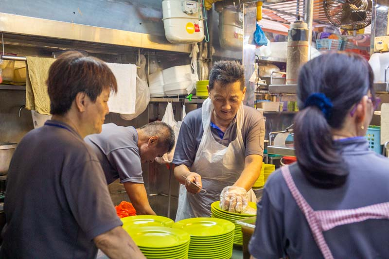 Maxwell Food Centre Ah Tai Tian Tian Hainanese Chicken Rice Chinatown 12