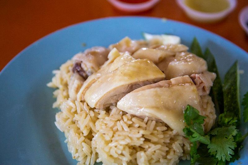 Maxwell Food Centre Ah Tai Tian Tian Hainanese Chicken Rice Chinatown 16