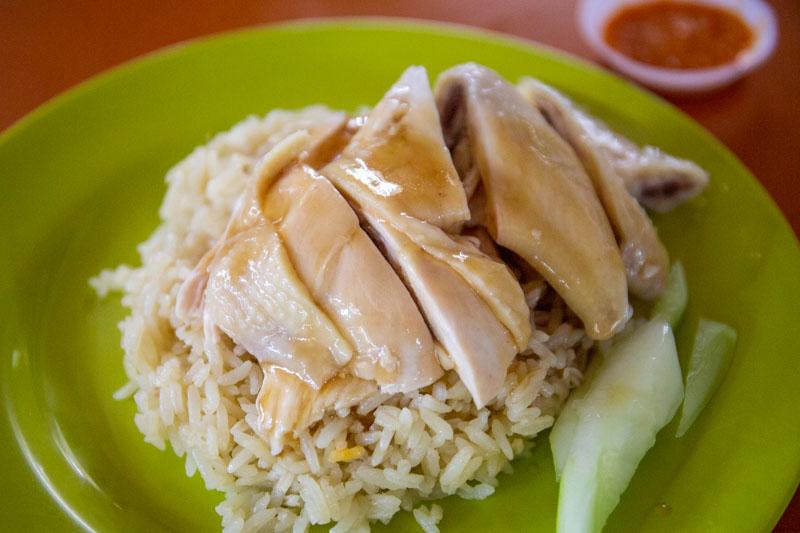 Maxwell Food Centre Ah Tai Tian Tian Hainanese Chicken Rice Chinatown 17