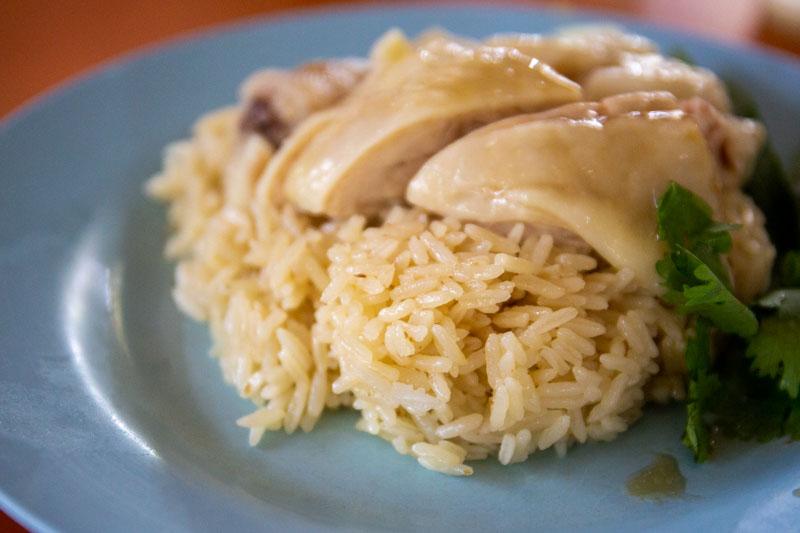 Maxwell Food Centre Ah Tai Tian Tian Hainanese Chicken Rice Chinatown 21