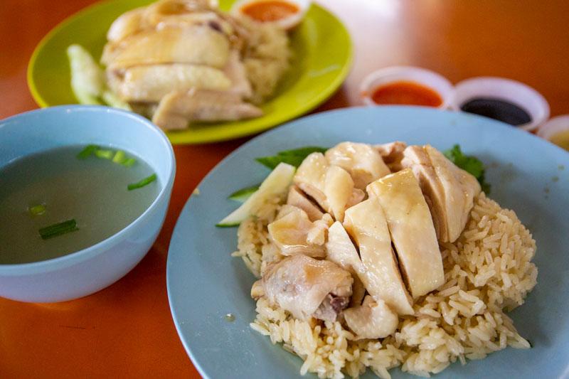 Maxwell Food Centre Ah Tai Tian Tian Hainanese Chicken Rice Chinatown 25