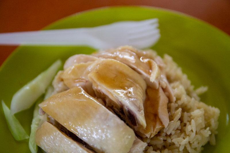Maxwell Food Centre Ah Tai Tian Tian Hainanese Chicken Rice Chinatown 29