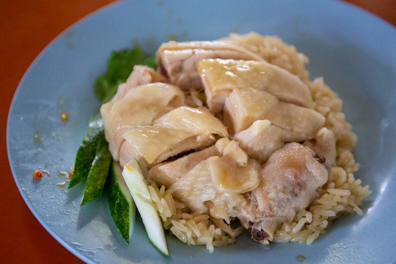 Maxwell Food Centre Ah Tai Tian Tian Hainanese Chicken Rice Chinatown 37