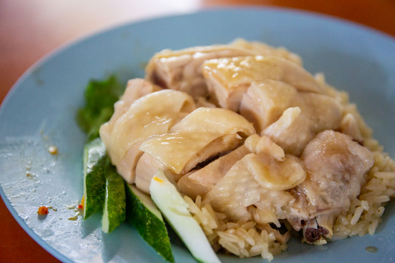 Maxwell Food Centre Ah Tai Tian Tian Hainanese Chicken Rice Chinatown 38