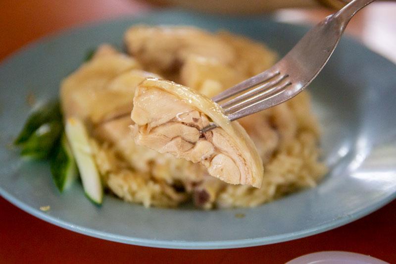 Maxwell Food Centre Ah Tai Tian Tian Hainanese Chicken Rice Chinatown 39