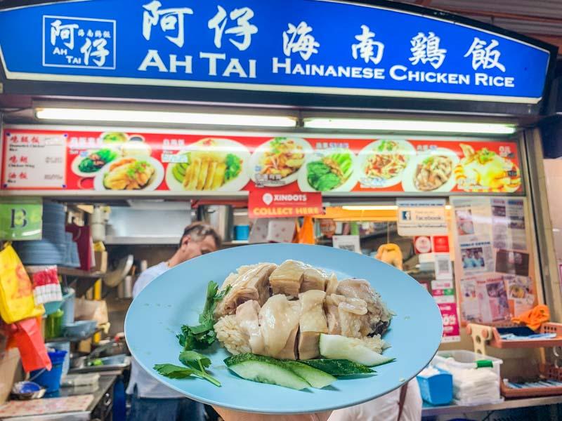 Maxwell Food Centre Ah Tai Tian Tian Hainanese Chicken Rice Chinatown 47