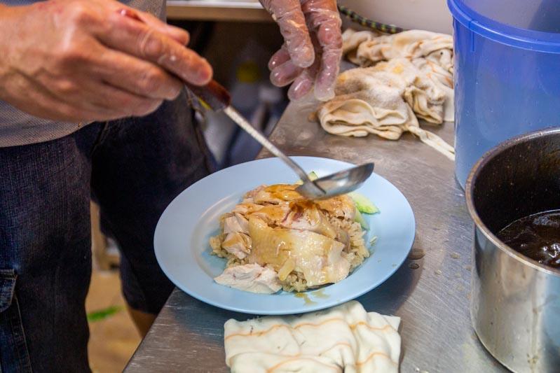 Maxwell Food Centre Ah Tai Tian Tian Hainanese Chicken Rice Chinatown 9