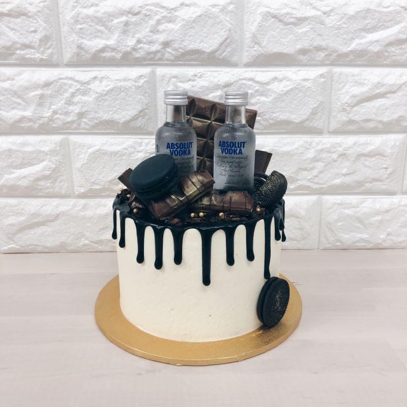 Alcohol Cake Whisked Singapore