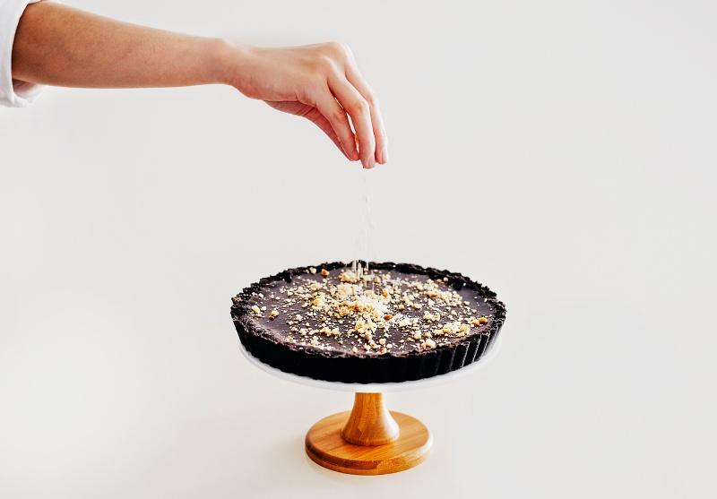 Elijah Pies Nutella Pie