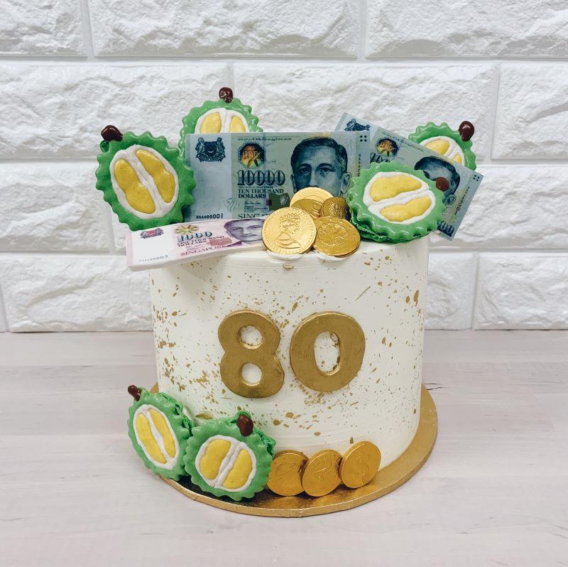 Money Cake Whisked Singapore