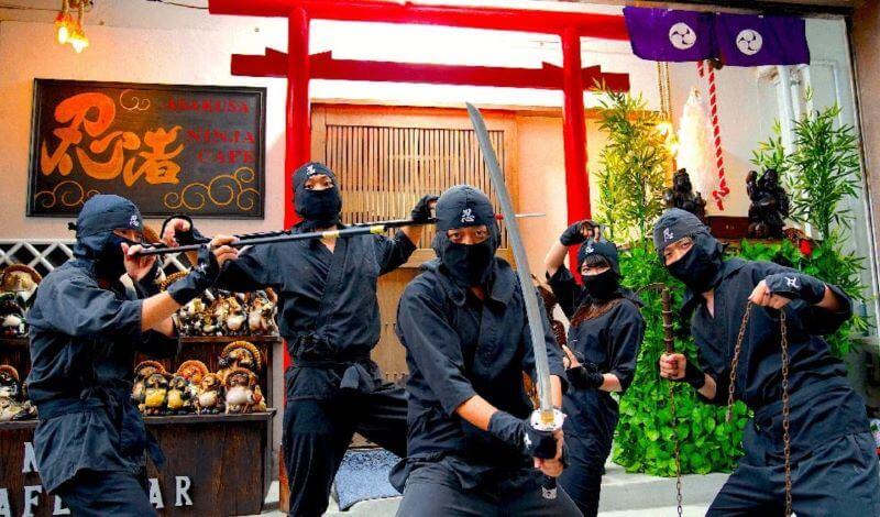 Piranha Ramen Ninja Cafe Online 1