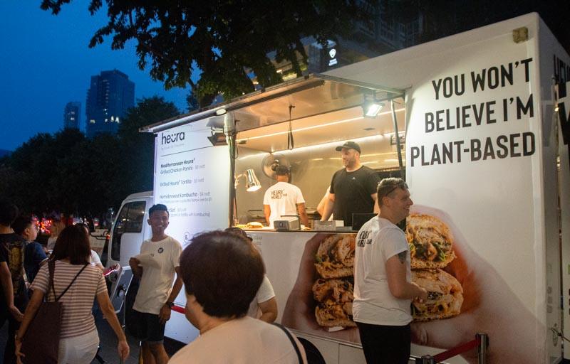 Heura Food Truck Grand Hyatt Singapore
