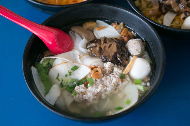 Yam Mee Teochew Fishball Mee 8269