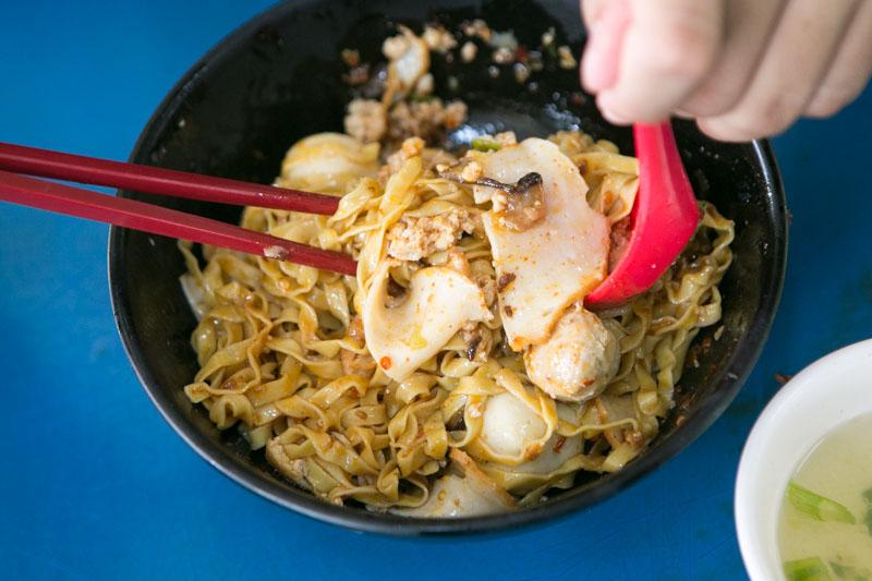 Yam Mee Teochew Fishball Mee 8415