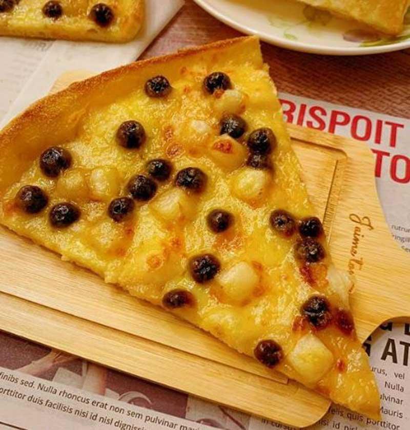 Domino's Taiwan Brown Sugar Pearl Pizza Online 3