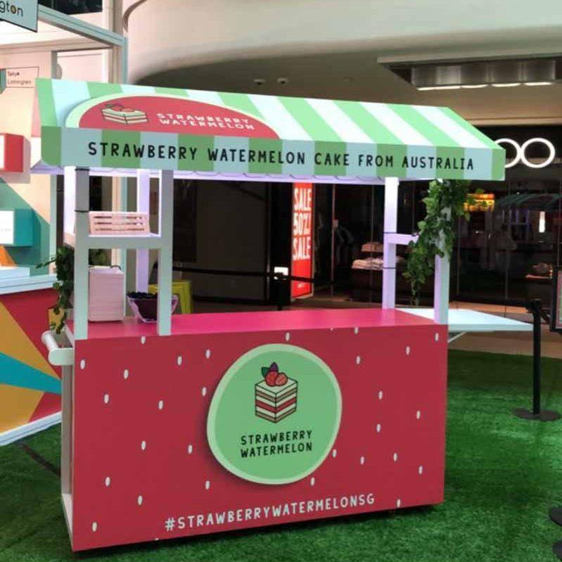 Strawberry Watermelon Cake Plaza Singapura Black Star Pastry Online 4