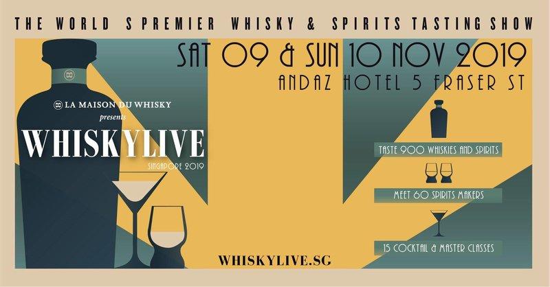 Whisky Live 2019 Banner