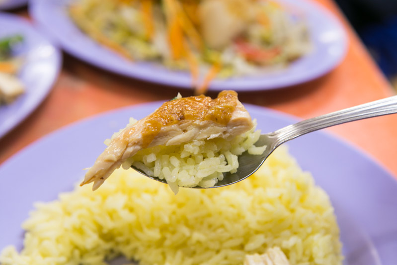 Delicious Boneless Chicken Rice 11