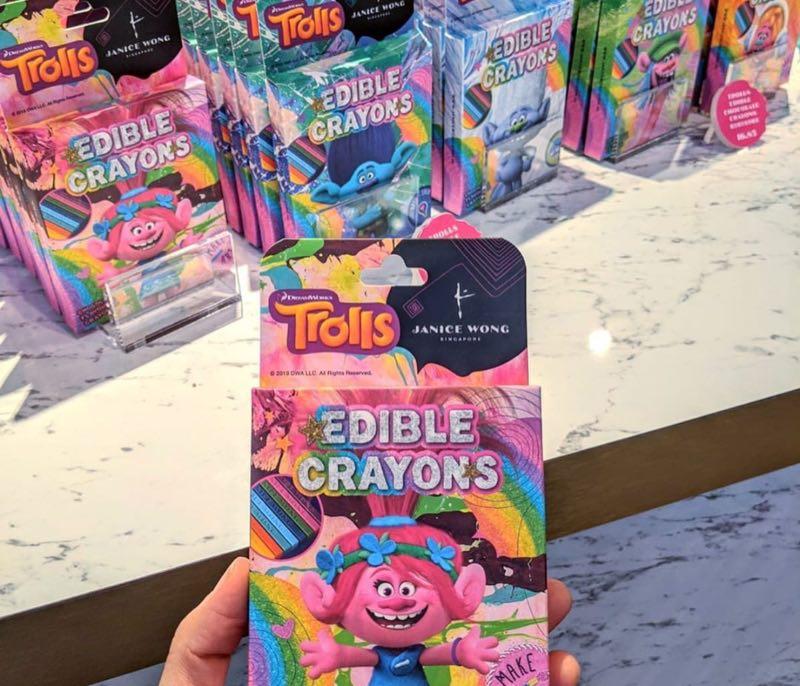 Janice Wong Trolls Edible Crayons Online 1