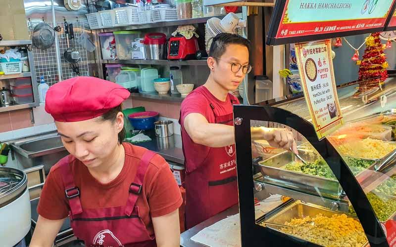 Hakka Hamcha & Yong Tou Fu thunder tea Chinatown 12