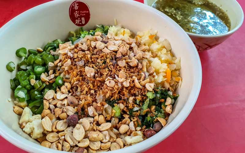 Hakka Hamcha & Yong Tou Fu thunder tea Chinatown 16