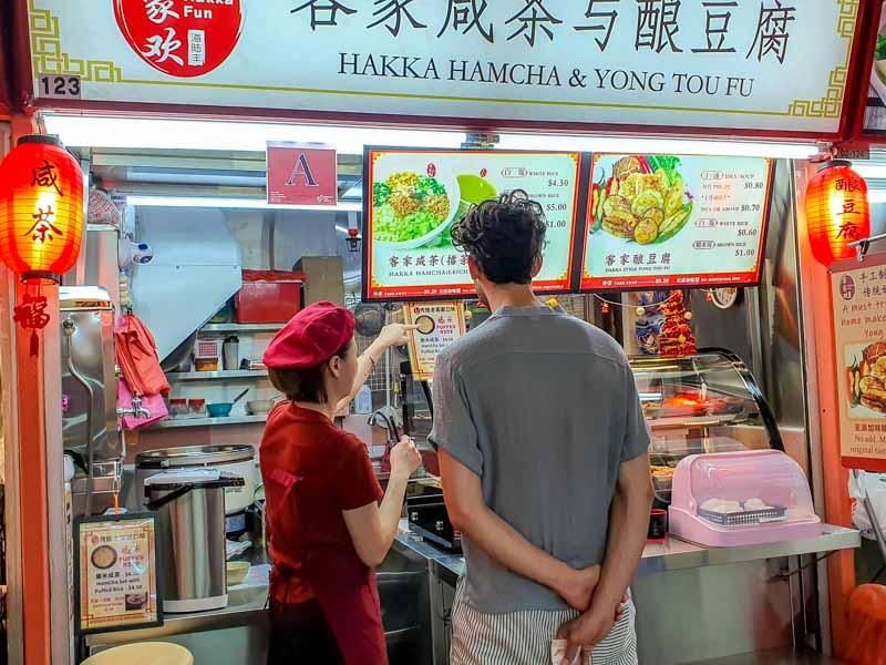 Hakka Hamcha & Yong Tou Fu thunder tea Chinatown 20