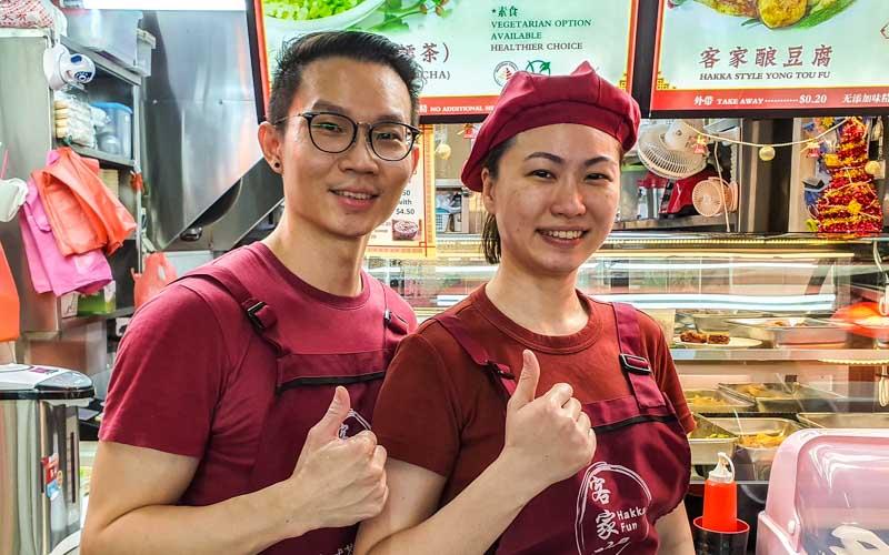 Hakka Hamcha & Yong Tou Fu thunder tea Chinatown 37