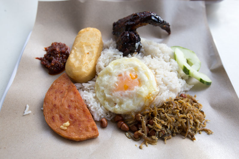 Nasi Lemak Showdown Bali Nasi Lemak 2