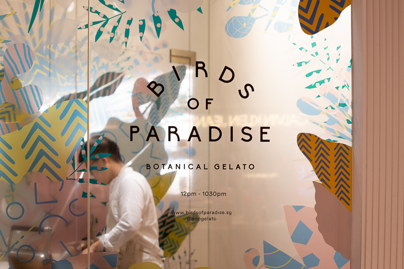 Birds Of Paradise 9 food showdown gelato