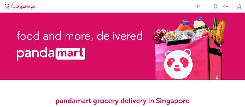 Pandamart Pandanow Singapore Mar 2020 Online