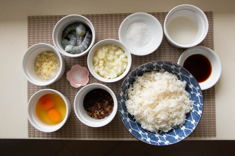 Salt And Pepper Shrimp Fried Rice 13