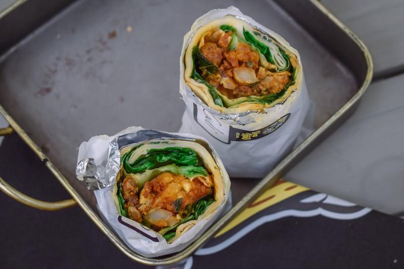 Wrap Bstrd Vegetarian Wrap