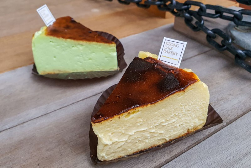 Keong Saik Bakery Basque Burnt Cheesecake Outram 2