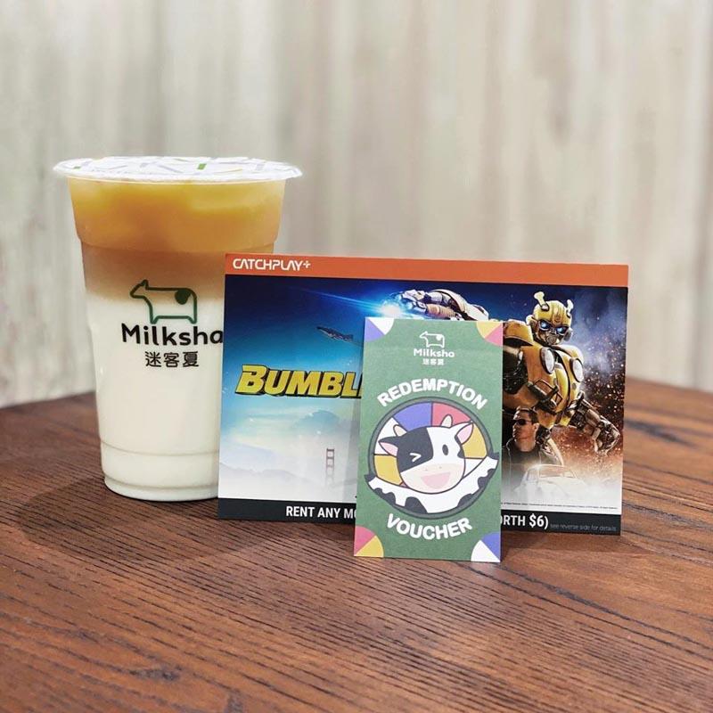 Milksha Three Drinks 9.90 Free Movie Rental Singapore Apr 2020 Online