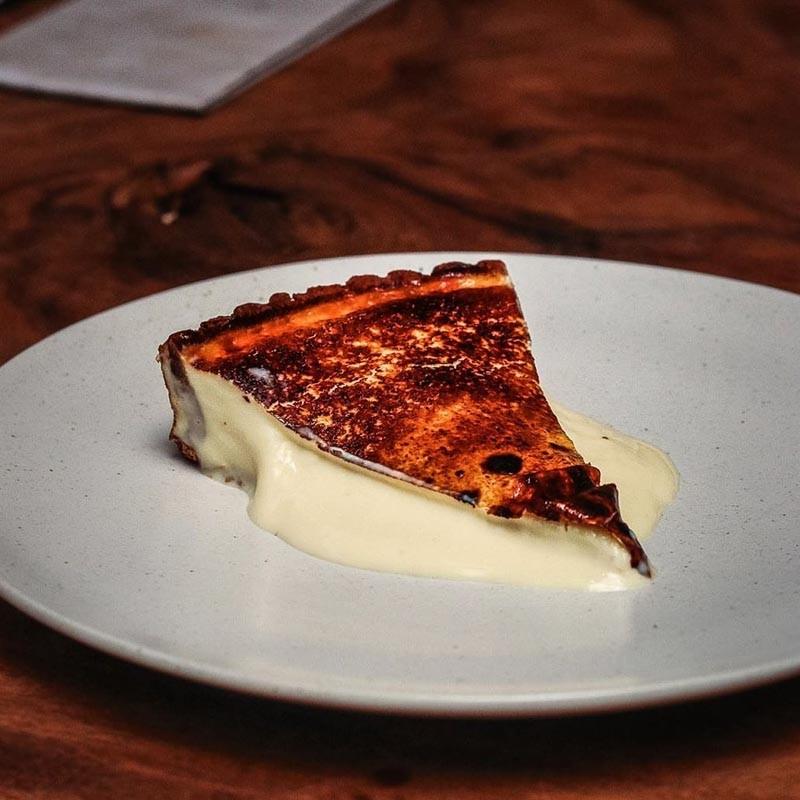 Olivia Restaurant & Lounge Basque Burnt Cheesecake Online 1