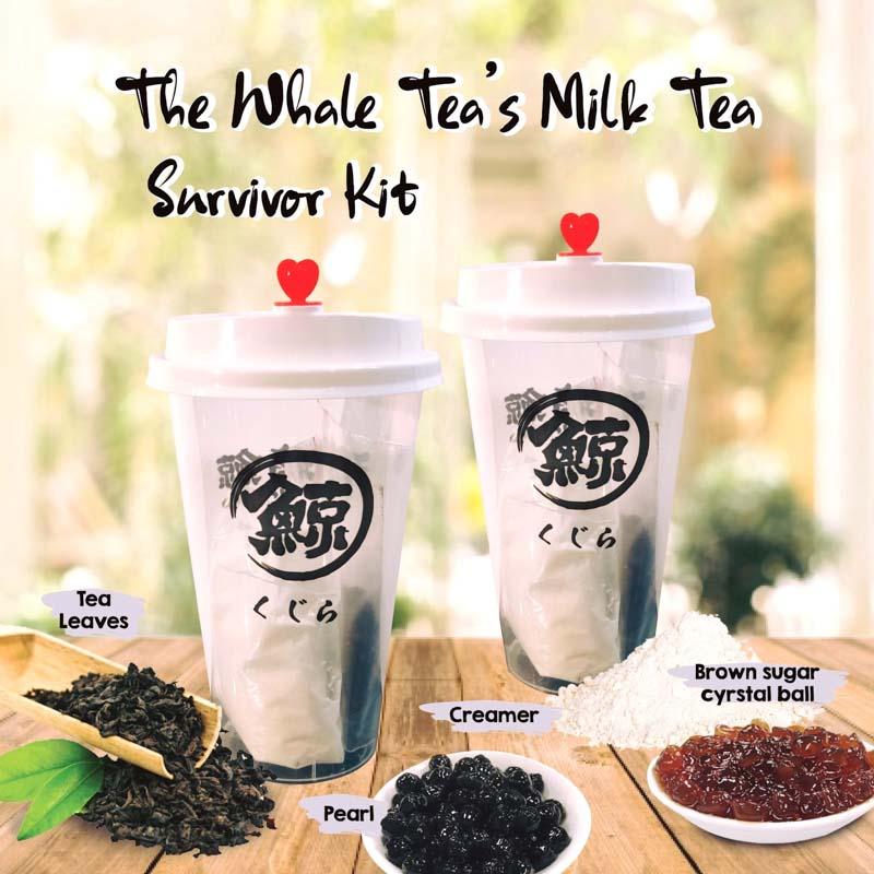 Diy Bubble Tea Kits Shopee The Whale Tea Online 1